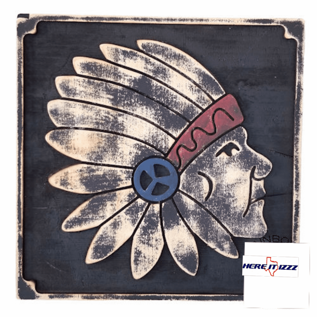 Native American Headdress Indian Wall Art