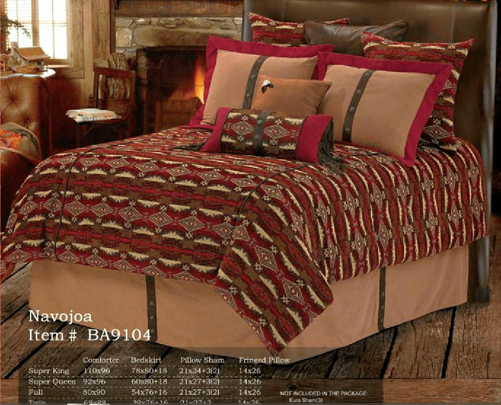 Navajoa Southwestern Bedding Queen