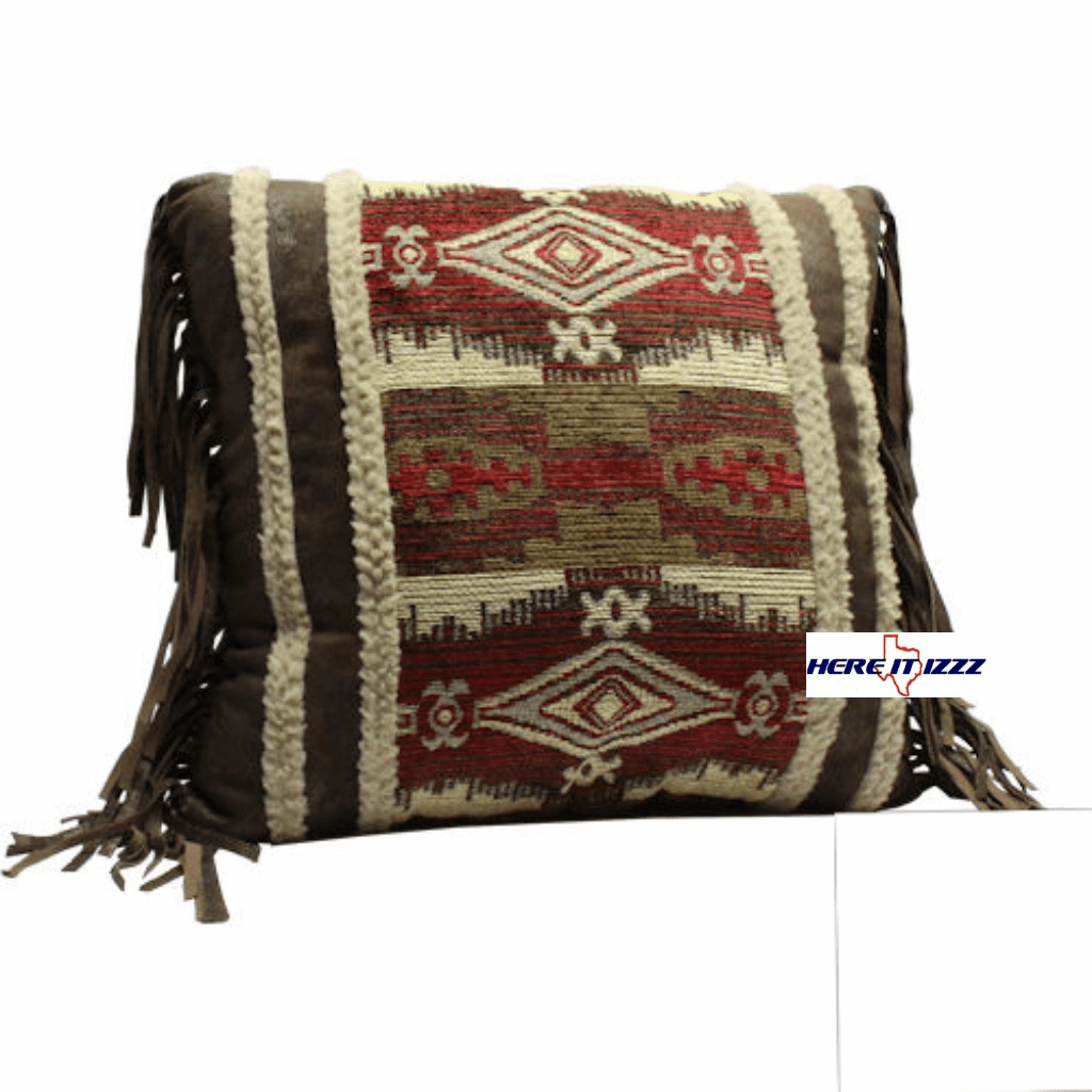 Navojoa Fringed Pillow