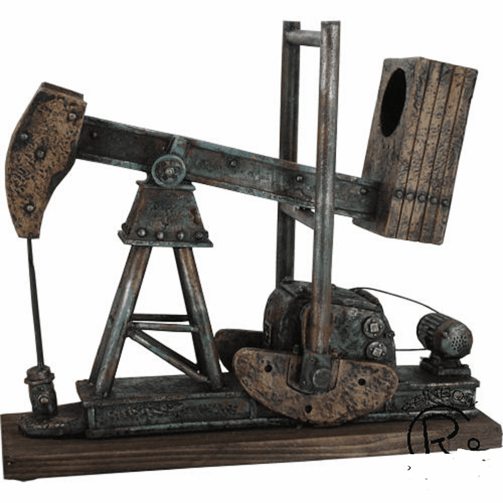 Oil Derrick Wine Holder