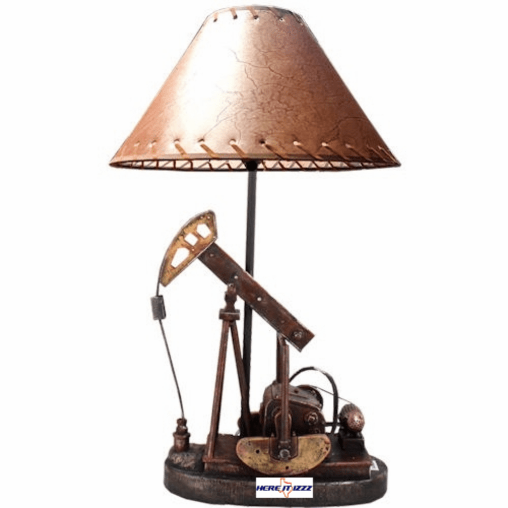 Oil Pump Jack Oil Derrick Lamp