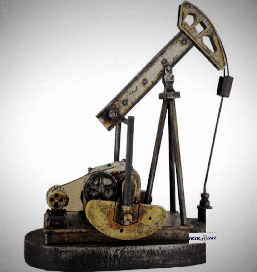 Oil Pump Jack Replica Figurine