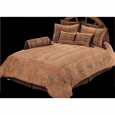 Patched Star  Bedding Twin