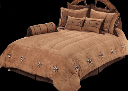 Patched Star  Bedding Collection