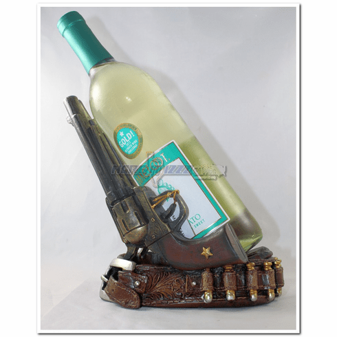 Pistol Gun Belt Wine Bottle Holder