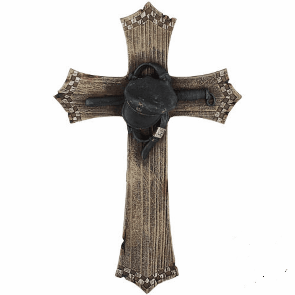 Police Officer Wall Cross