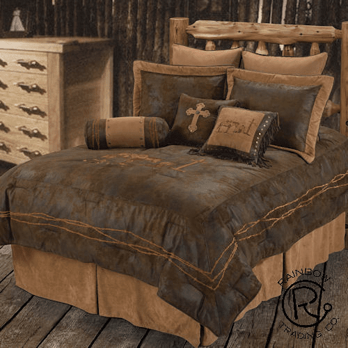 Praying Cowboy Comforter Set King