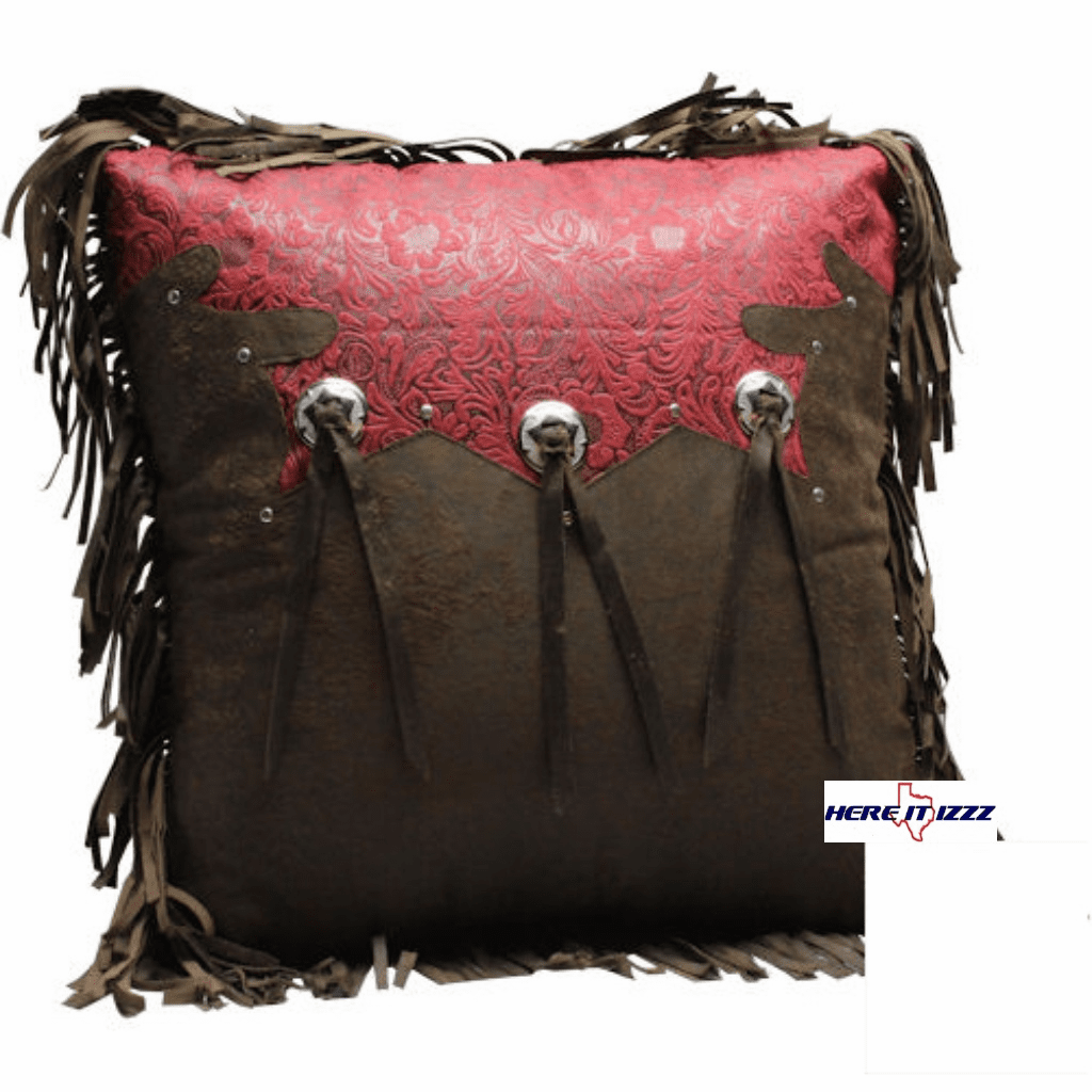 Pueblo Triple Concho Pillow
