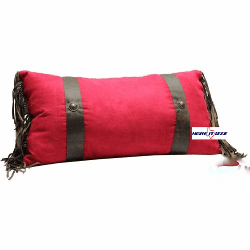 Red Concho Neck Pillow