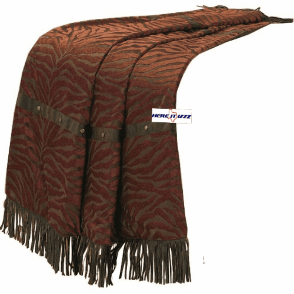 Red Zebra  Throw