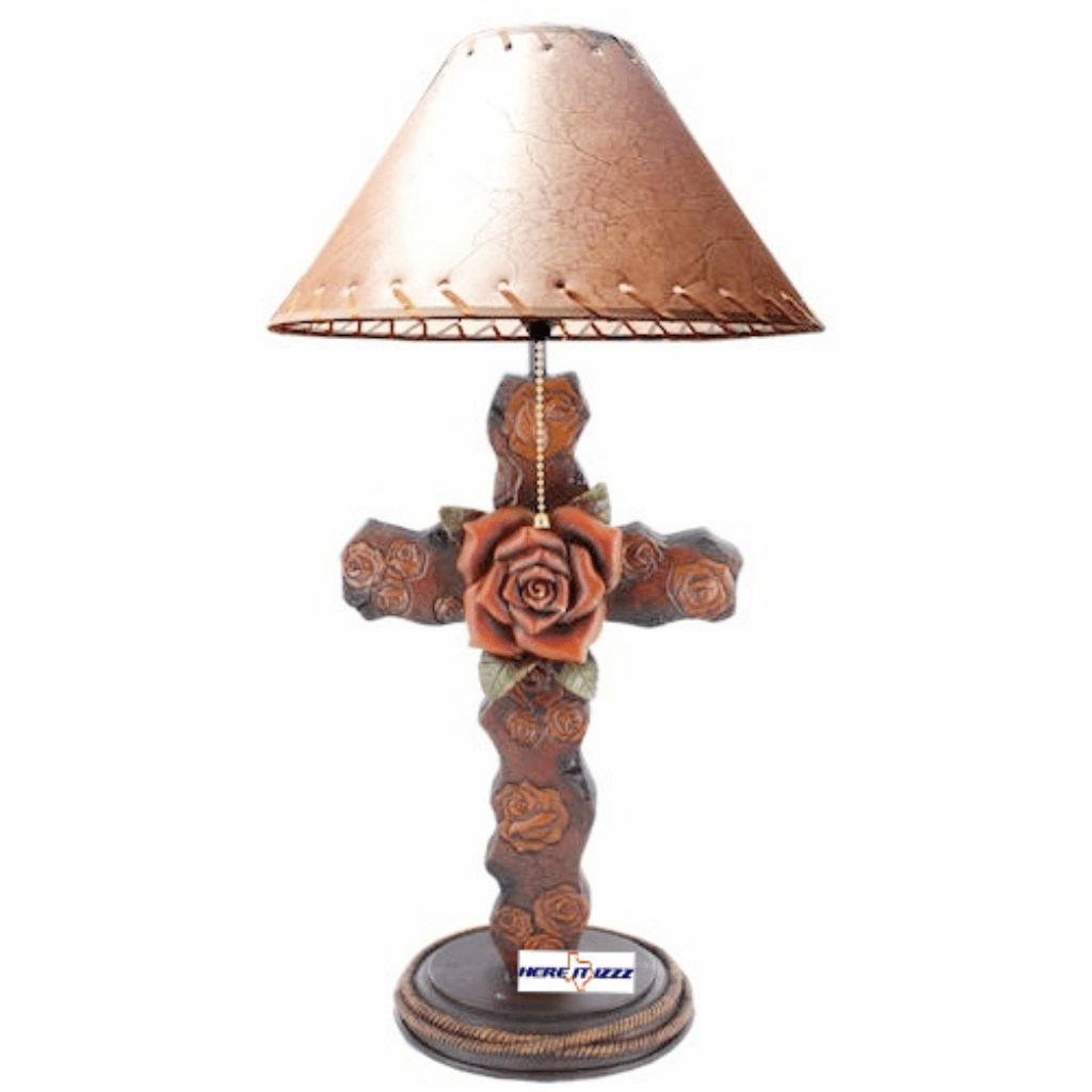 Rose Cross Lamp