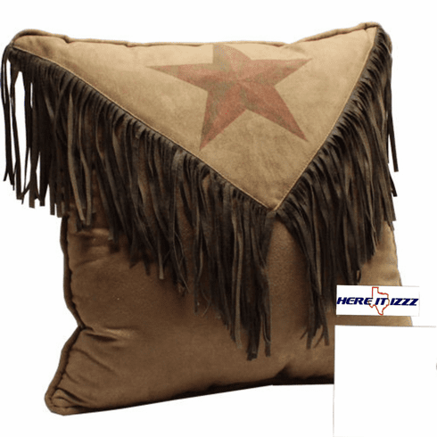 Rustic Star Pillow