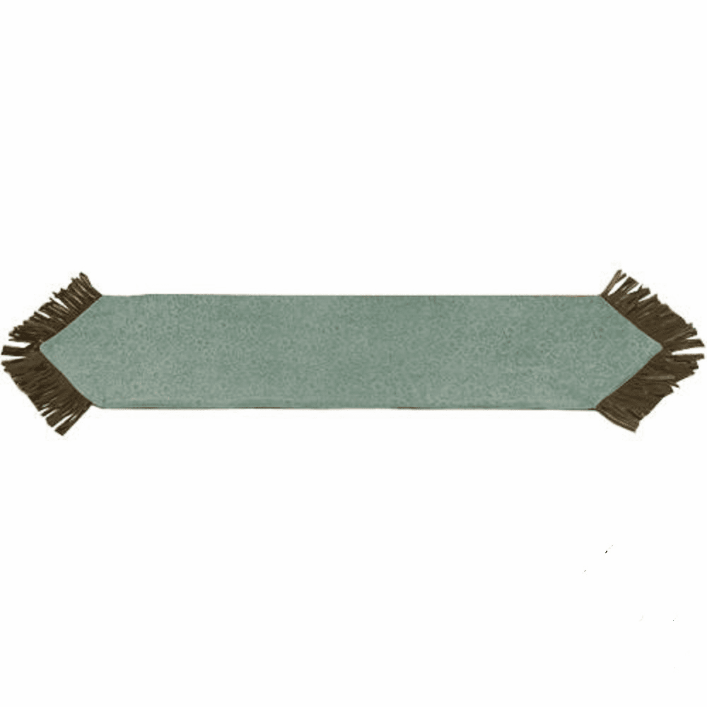 Rustic Western Tooled Turquoise San Juan Table Runner