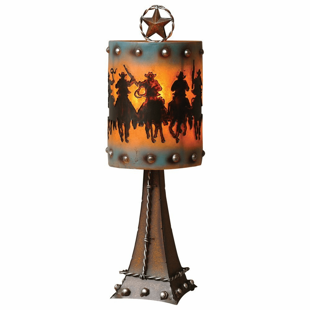 Sheriff's Posse Accent Lamp