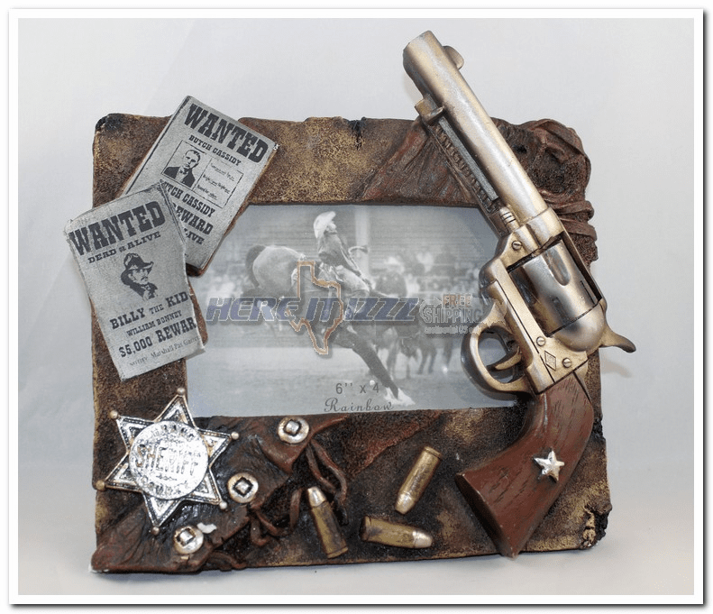 Sheriff's Most Wanted 4x6 3D Frame