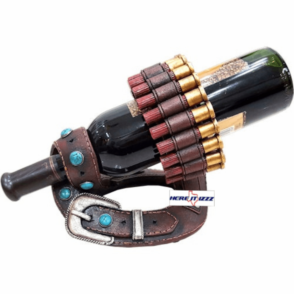 Shotgun Shell Belt Wine Holder