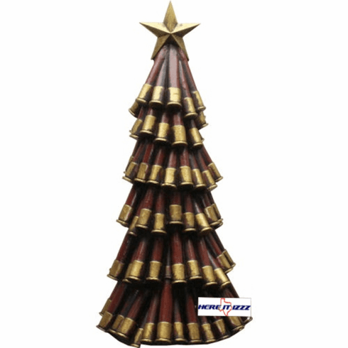Shotgun Shell Decorative Tree