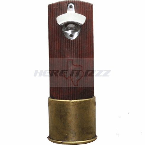 Shotgun Shell Wall Mounted Bottle Opener