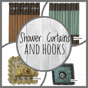Shower Curtains and Hooks