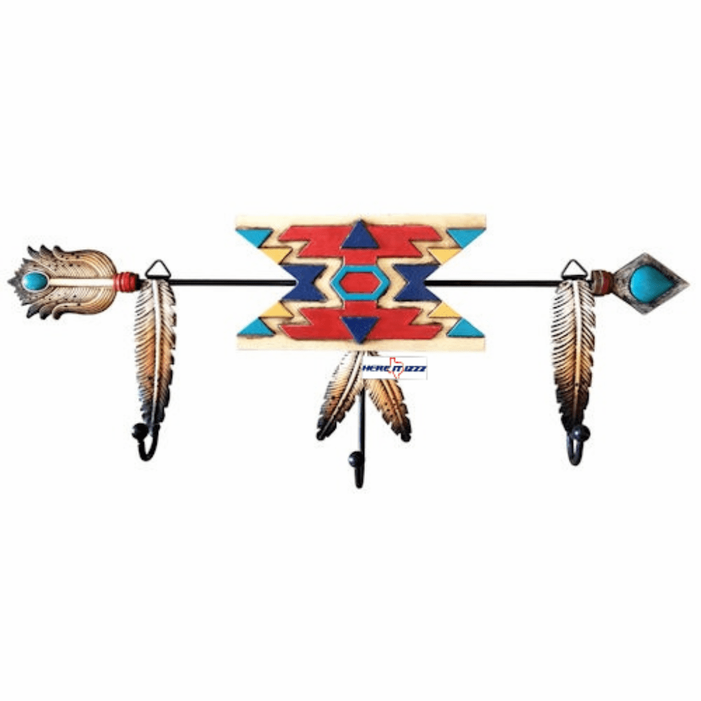 Southwestern Aztec Indian Coat Hook