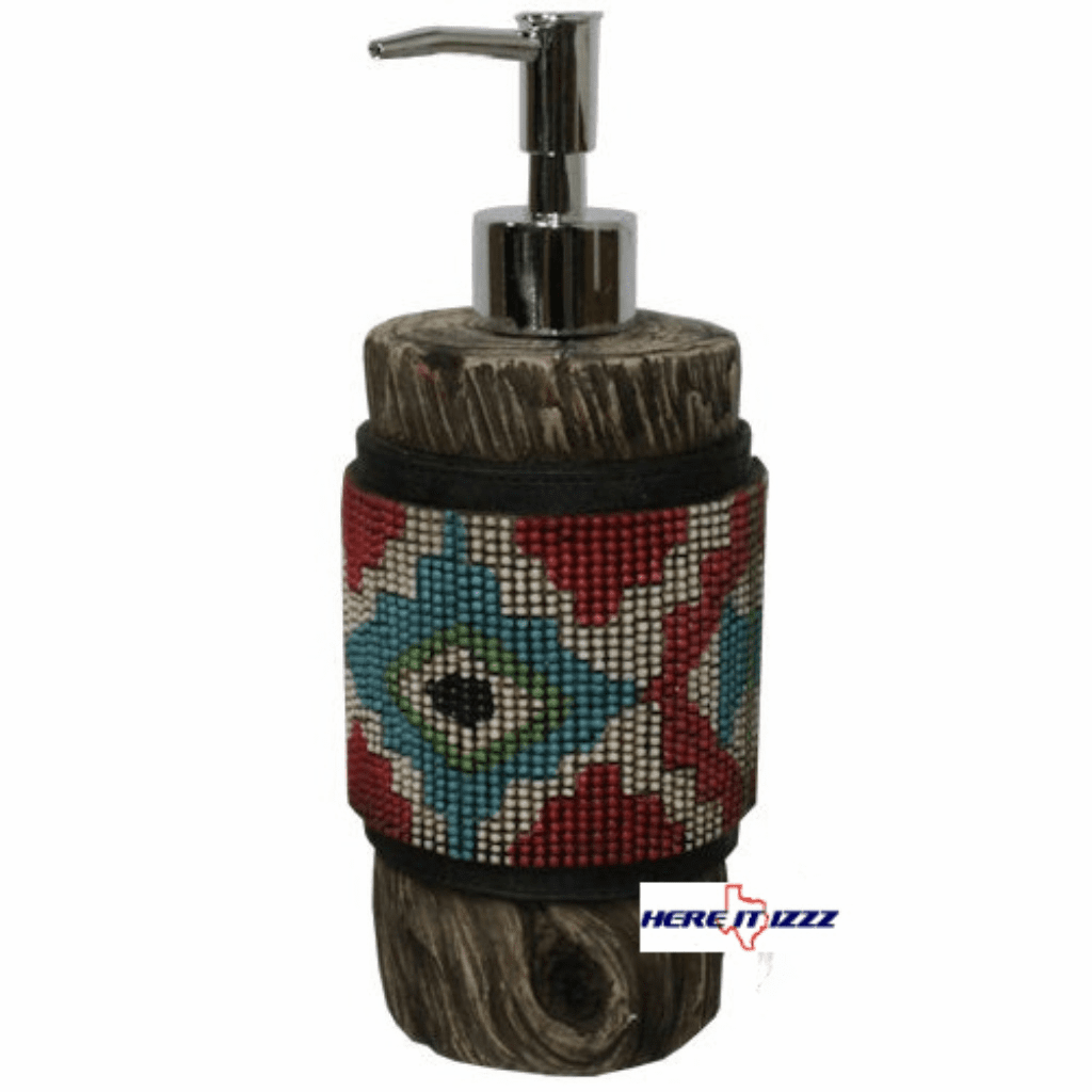 Southwestern Aztec Soap/Lotion Pump