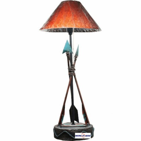 Southwestern Indian Arrow  Lamp