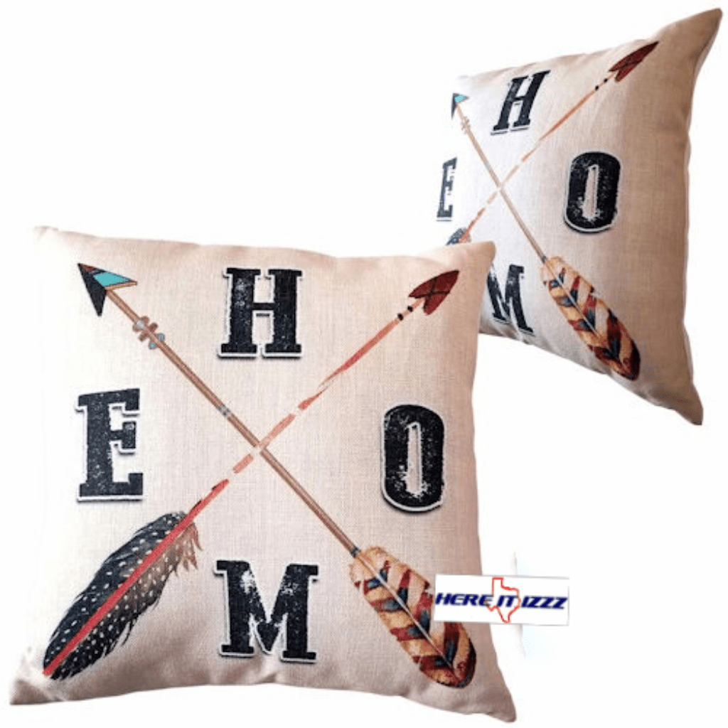 Southwestern Indian Home Arrow Pillow