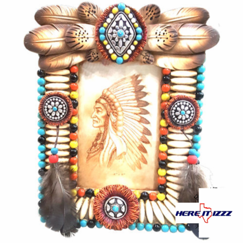 Southwestern Native American Picture Frame 4x6