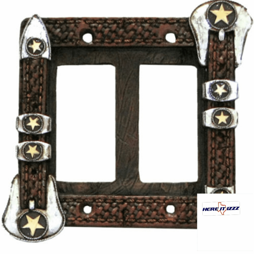 Star Belt Buckle Double Rocker Cover