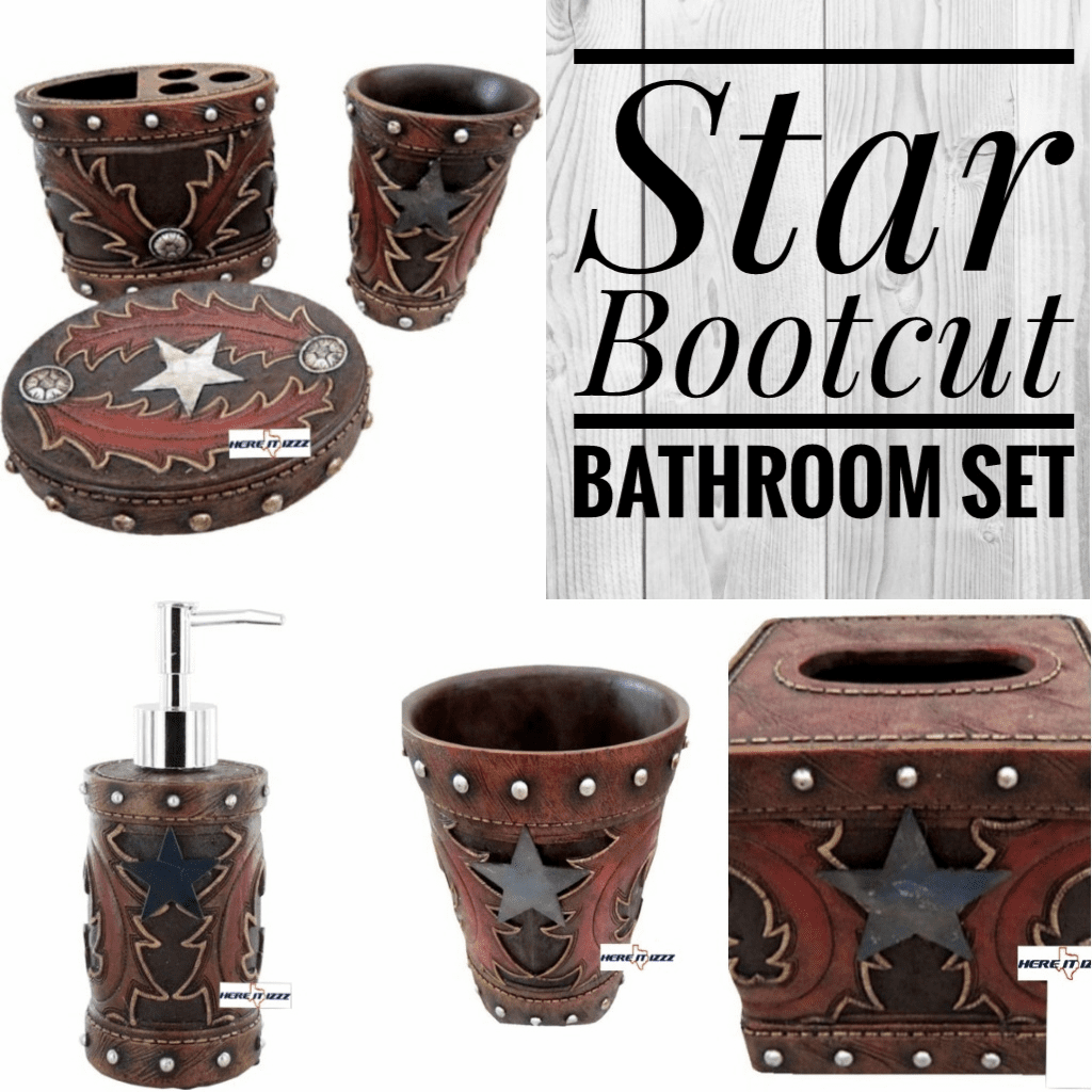 Star  Bootcut Bath  Set