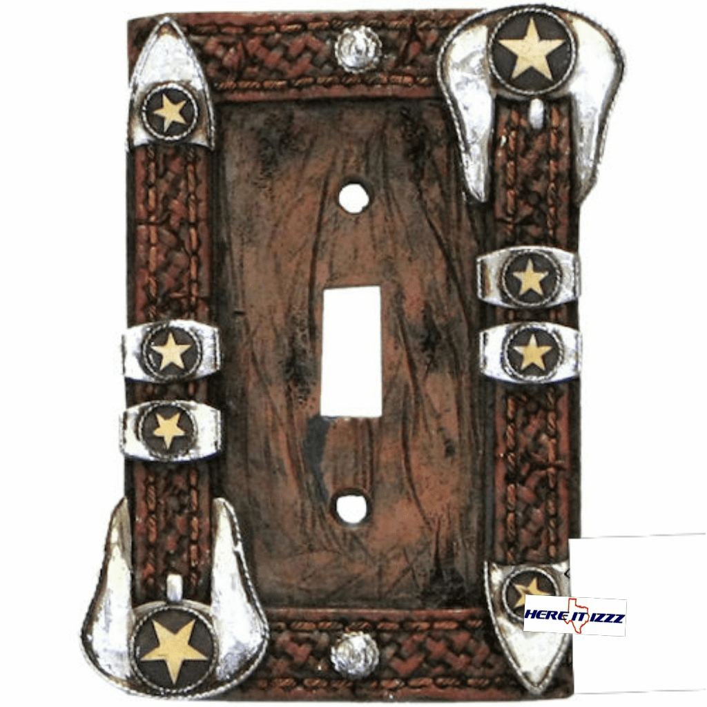 Star Buckle Single Switch Plate