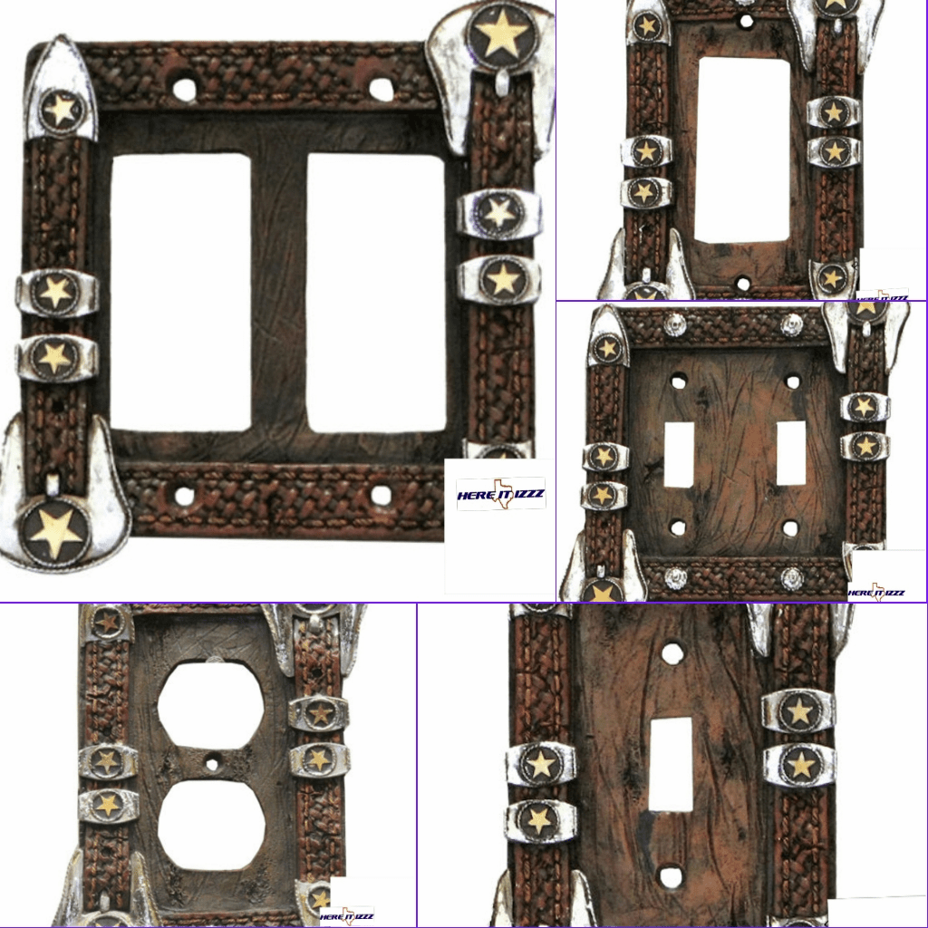 Star Buckle Wall Plate And Light Switch Covers