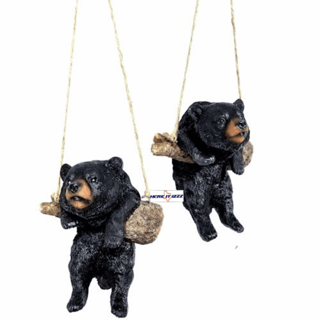 Swinging Black Bear