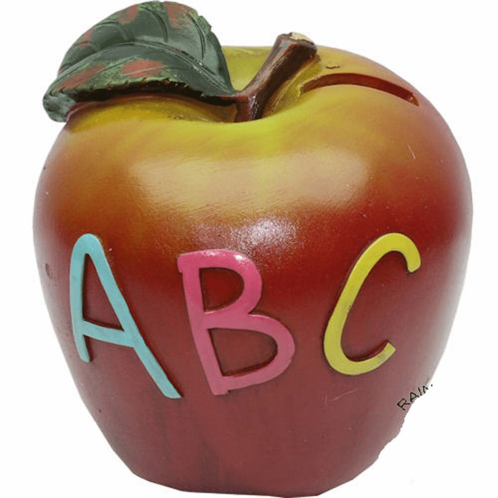 Teacher Apple ABC Bank