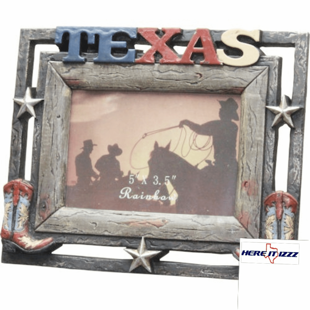 Texas 3.5x5 Cowboy Boot Frame