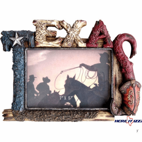 Texas Boot 5x7 Picture Frame