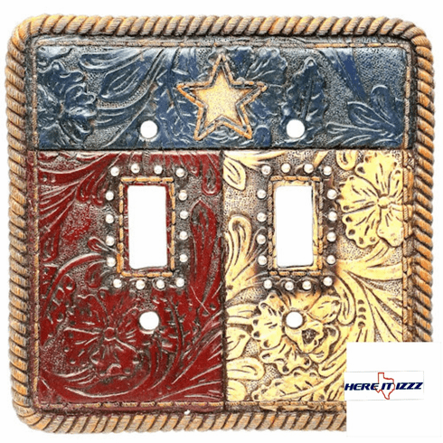 Texas Flag Double Switch