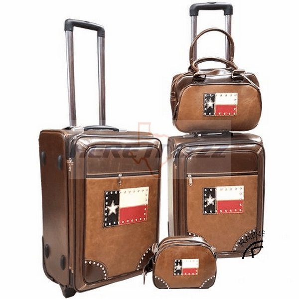 Texas Flag Luggage Set