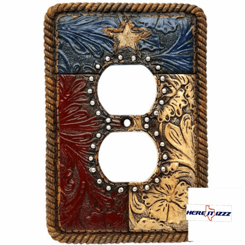 Texas Flag Outlet Cover