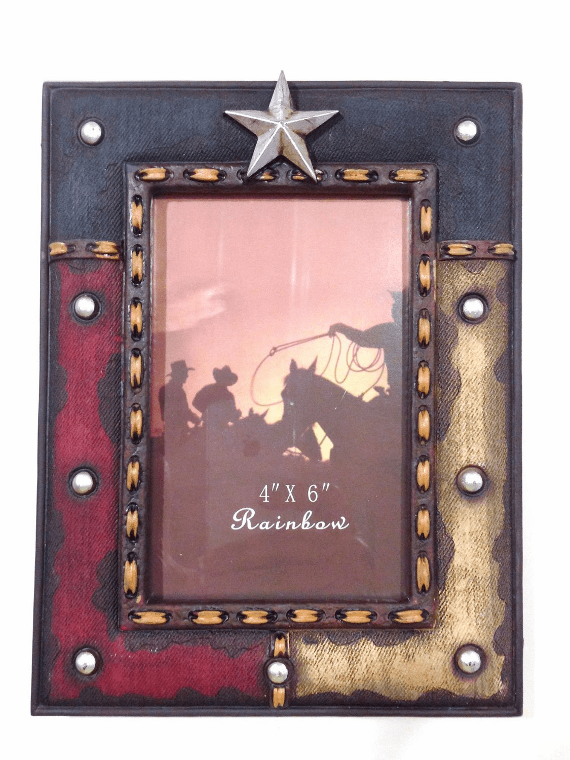 Texas Lone Star 4x6 Photo Frame