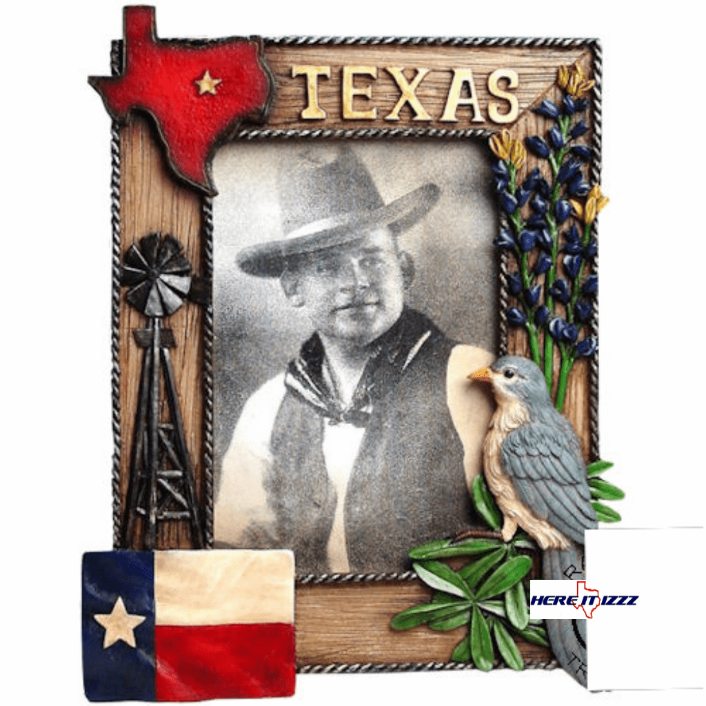 Texas Mockingbird Photo Frame 4x6