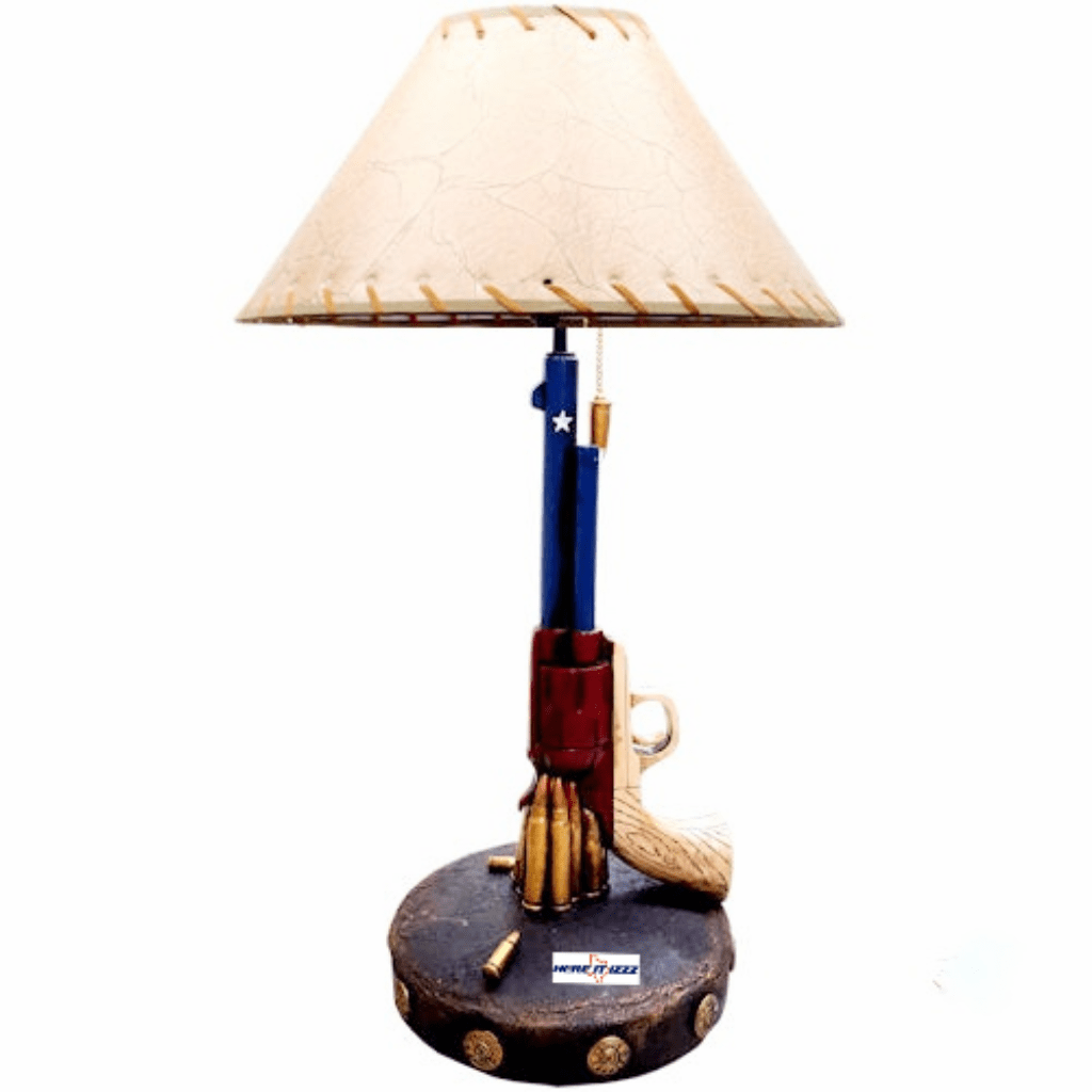 Texas Pistol Lamp