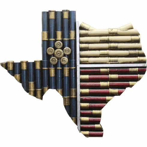 Texas Shotgun Shell Map-large