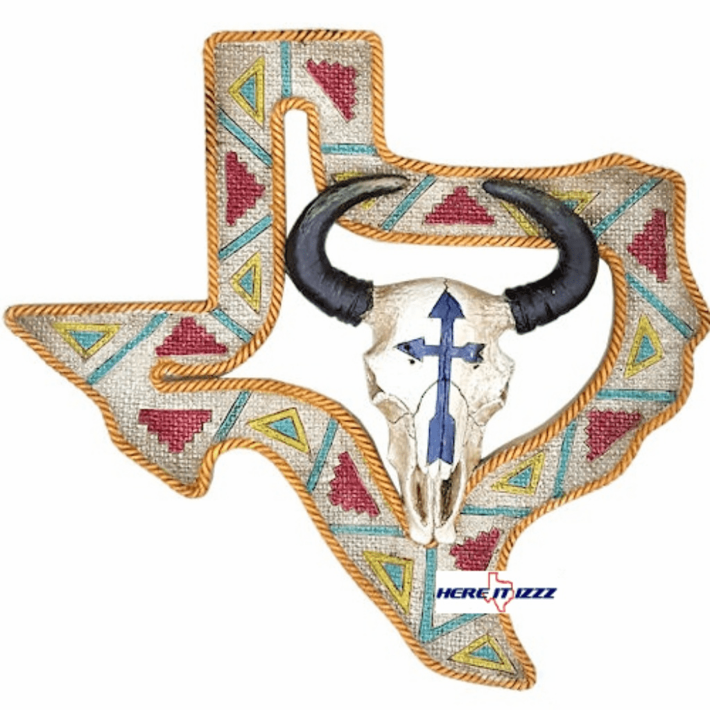 Texas Steer Skull Wall Design