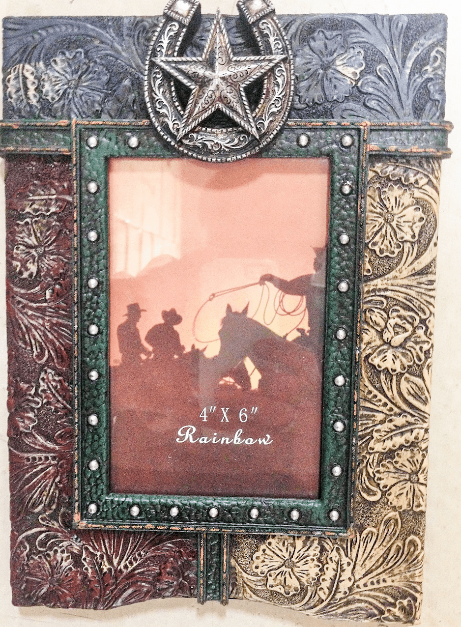 Tooled Texas  4x6 Photo Frame