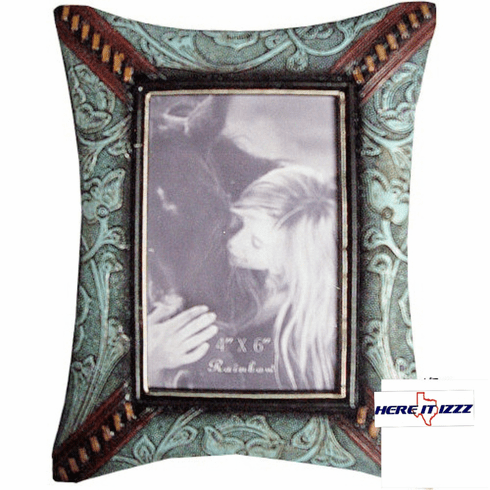 Tooled Turquoise 4x6 Photo Frame