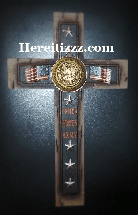 United States Army Wall Cross