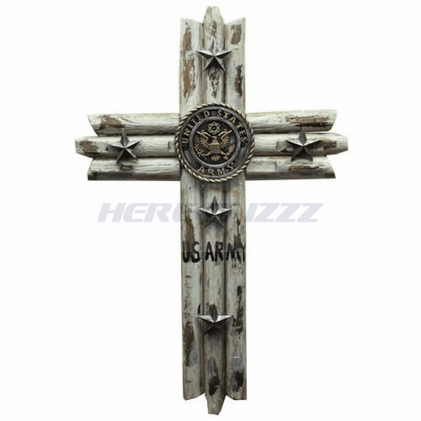 United States Army Weathered Cross