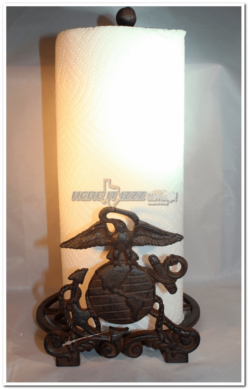 United States Marines Paper Towel Holder