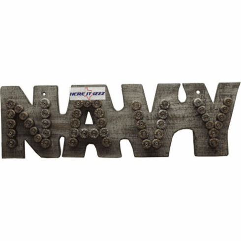 United States Navy Bullet Casing Shell Sign